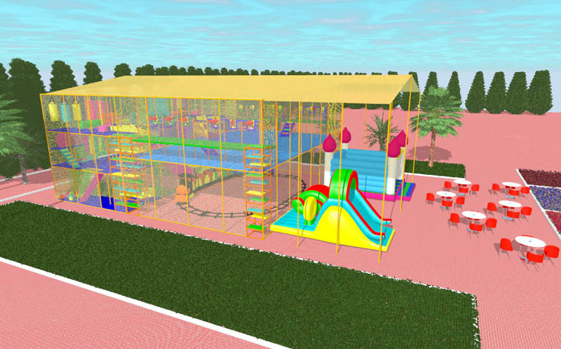 3D model playground
