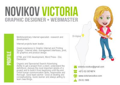 Infographic CV